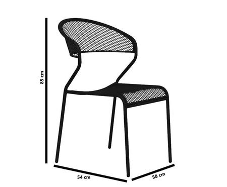 Cadeira Lenna - Preta | WestwingNow