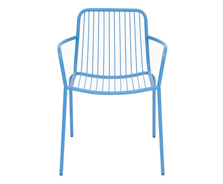 Cadeira com Braços Grid - Azul | WestwingNow