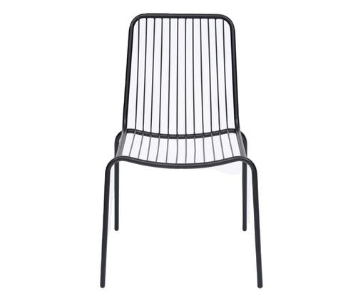 Cadeira Grid - Preta, Preto   WestwingNow