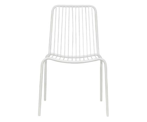 Cadeira Grid - Branca, Branco | WestwingNow