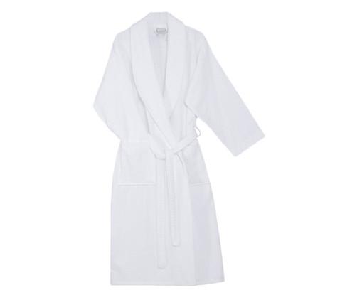 Roupão Stripes em Algodão - Branco, white,multicolor | WestwingNow