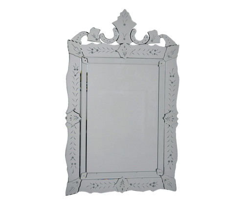 Espelho de Parede Veneziano Jaro - Prateado, Espelhado | WestwingNow