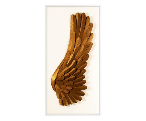 Quadro Asas lI - Dourado, Dourado | WestwingNow