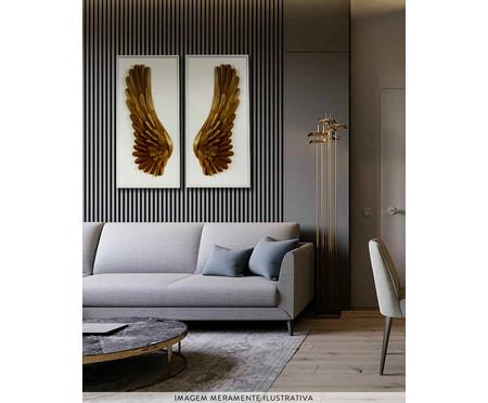 Quadro Asas lI - Dourado | WestwingNow