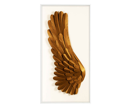 Quadro Asas l - Dourado | WestwingNow