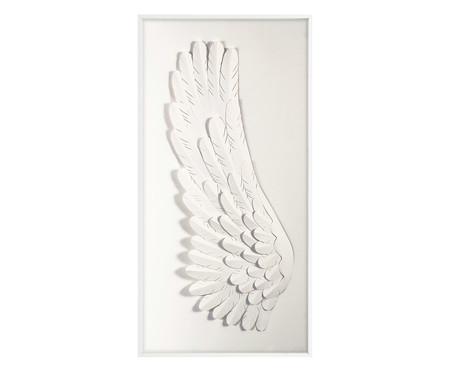 Quadro Angel Left - Branco | WestwingNow