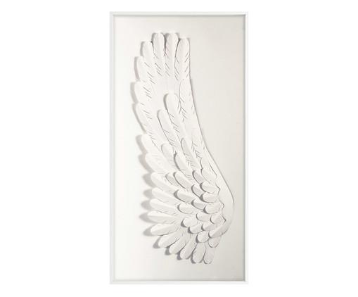 Quadro Angel Left - Branco, Branco | WestwingNow