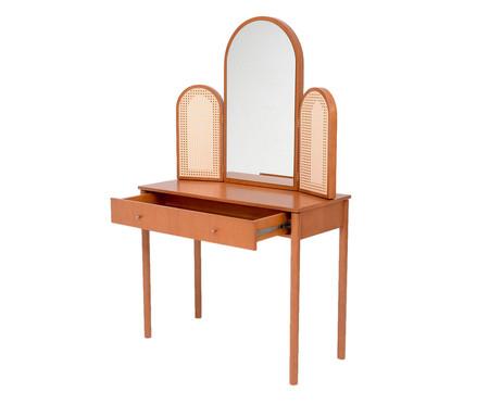 Penteadeira com Espelho Poesia - Caramelo | WestwingNow