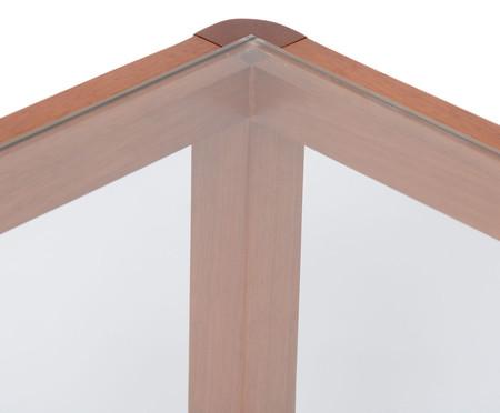 Mesa de Centro Quadrado Itapuã - Caramelo | WestwingNow