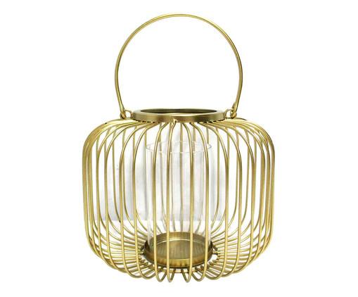 Lanterna Hércules - Dourada, Dourado | WestwingNow