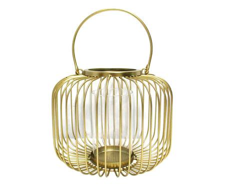 Lanterna Hércules - Dourada | WestwingNow
