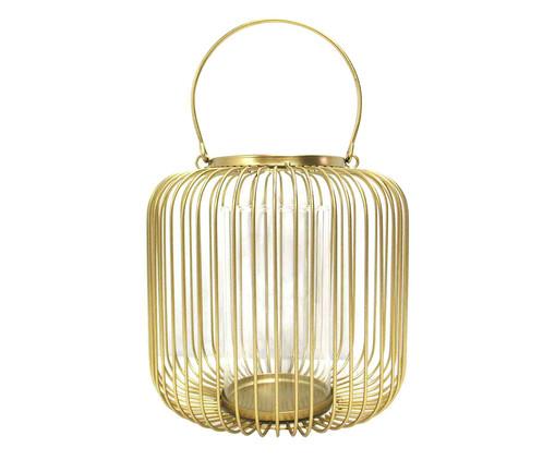 Lanterna Eros - Dourada, Dourado | WestwingNow