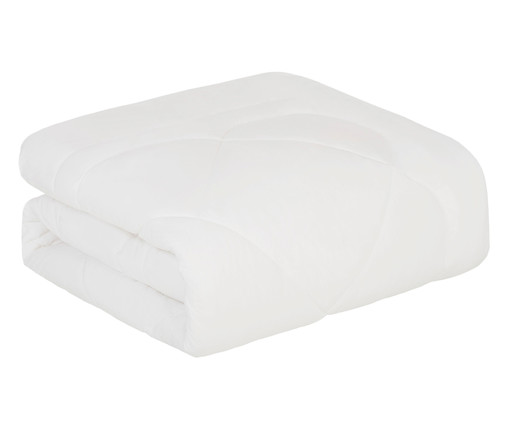 Edredom de Algodão 200 Fios Colore - Branco, Branco | WestwingNow