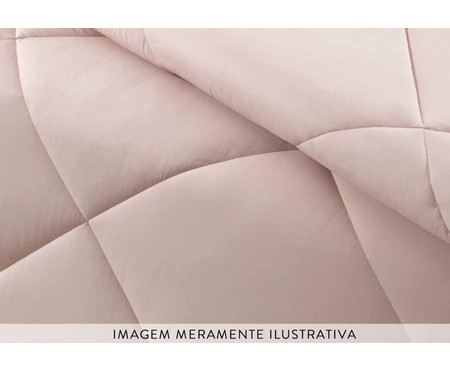 Edredom Colore Soft Rose - Rosa | WestwingNow