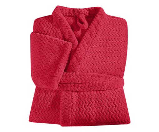 Roupão Tweed - Vermelho, Vermelho | WestwingNow