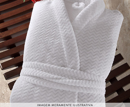 Roupão Tweed - Branco | WestwingNow