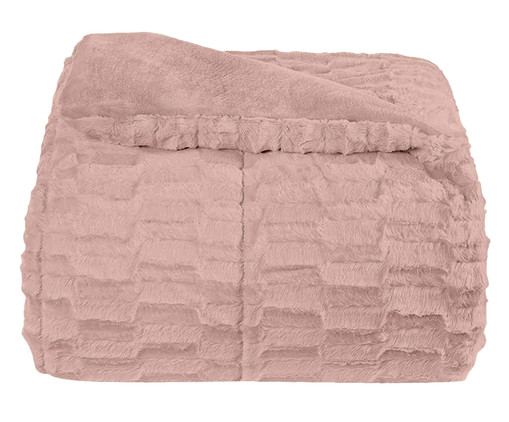 Edredom Plush Peles - Rosa Vintage, Rosa Vintage | WestwingNow