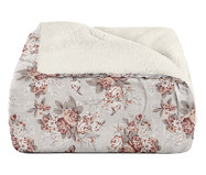 Edredom Plush Sherpa Floral Bouquet - Colorido | WestwingNow