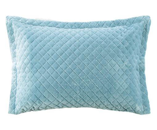 Porta-Travesseiro Inove Liso - Azul Stone, Azul Stone   WestwingNow