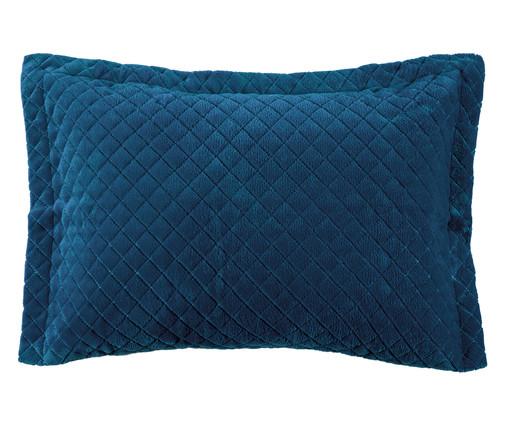 Porta-Travesseiro Inove Liso - Azul Pacífico, Azul Pacífico | WestwingNow