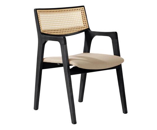 Cadeira Vitória - Preta, Preto   WestwingNow