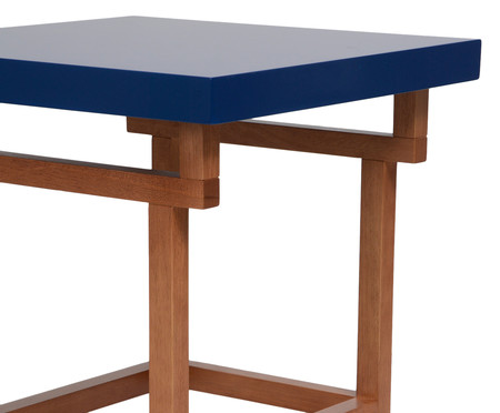 Mesa Lateral Nancy - Azul | WestwingNow