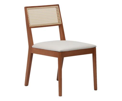 Cadeira com Estofado Letha Mia, Branco | WestwingNow