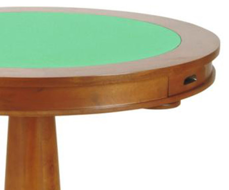 Mesa para Jogos Redonda Full - Natural | WestwingNow