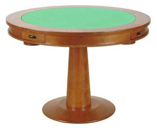 Mesa para Jogos Redonda Full - Natural, Natural | WestwingNow