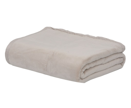 Cobertor Soft Raschel Fendi 600G/M² - Bege, Fendi   WestwingNow