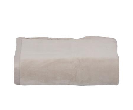 Cobertor Soft Raschel Fendi 600G/M² - Bege | WestwingNow