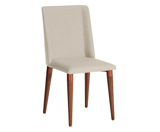 Cadeira em Madeira Thyra - Bege, Bege | WestwingNow