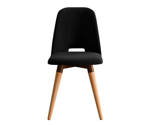 Cadeira Giratória Selina Ta - Preta, Preto | WestwingNow