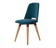 Cadeira Giratória Selina - Azul | WestwingNow