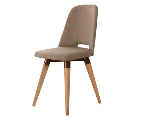 Cadeira Giratória Selina - Marrom, Marrom | WestwingNow