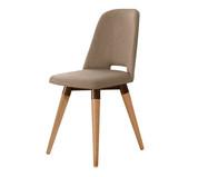 Cadeira Giratória Selina Ta - Marrom | WestwingNow