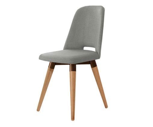 Cadeira Giratória Selina - Cinza, Cinza | WestwingNow