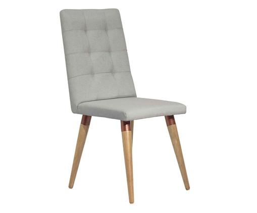 Cadeira de Madeira Olga - Cinza, Cinza | WestwingNow
