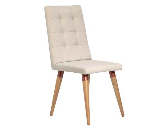 Cadeira de Madeira Olga - Bege, Bege | WestwingNow