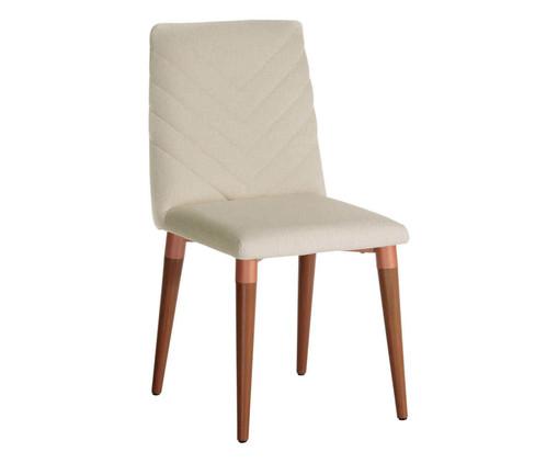 Cadeira de Madeira Liv - Bege, Bege | WestwingNow
