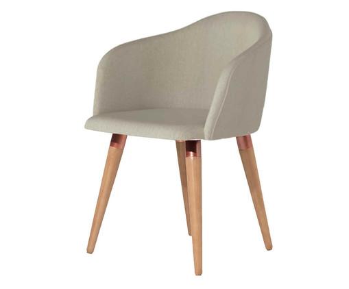 Cadeira Kari - Cinza, Bege | WestwingNow
