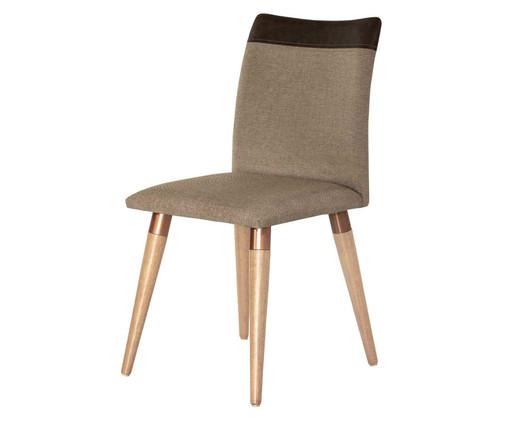 Cadeira em Madeira Becca - Marrom, Marrom | WestwingNow
