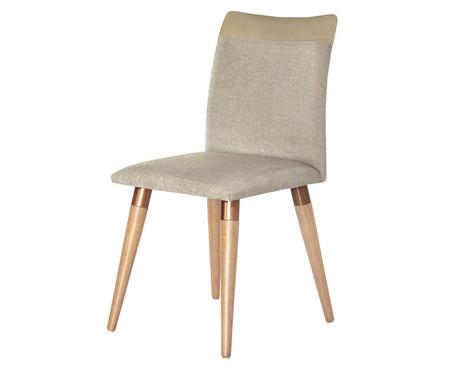 Cadeira em Madeira Becca - Bege | WestwingNow