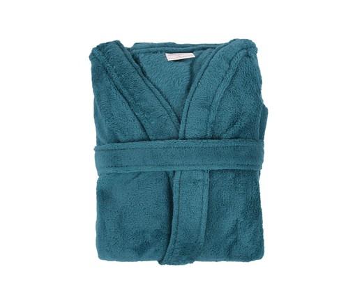 Roupão sem Gola Sofisticata - Azul Denin, Denin | WestwingNow