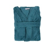Roupão sem Gola Sofisticata - Azul Denin | WestwingNow