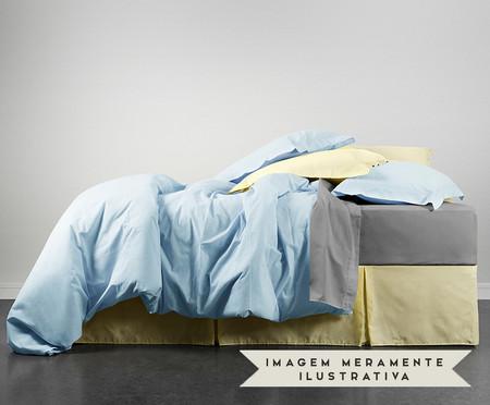 Duvet Lise Azul Algodão - 150 Fios | WestwingNow