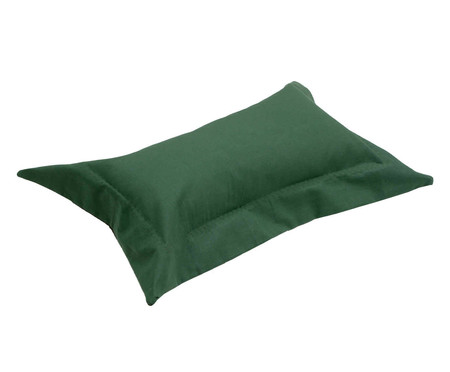 Capa de Almofada Lise Verde Militar - 150 Fios | WestwingNow