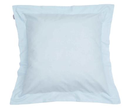 Capa de Almofada Lise Azul Algodão - 150 Fios | WestwingNow