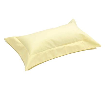 Capa de Almofada Lise Amarelo Pastel - 150 Fios | WestwingNow