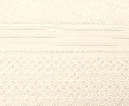 Jogo de Toalhas de Algodão Egípcio 500 g/m² Jonelle - Bege | WestwingNow